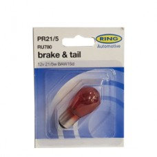 Ring Automotive 12V 21/5W Baw15D Brake & Tail (Red)