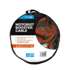 Simply SM600 Motorist Jump Leads Booster Cable 600AMP 4M Long