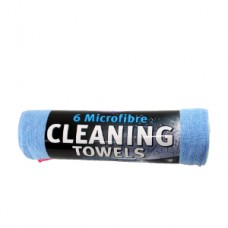Kent Microfibre Cleaning Towels, Set Of 6