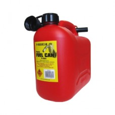 Plastic Fuel Can 5L Red