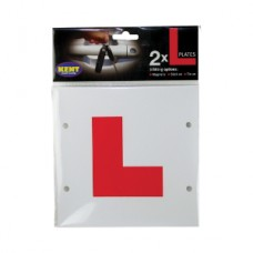 Kent Car Care L-Plates Magnetic Stick-On/ Tie-On