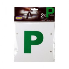 Kent Car Care P-Plates Magnetic Stick-On/ Tie-On