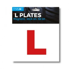 Simply TL2000 L-Plates Magnetic Stick/ Tie On