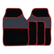 Streetwize 4 x Red Trim With H/Pad Mats