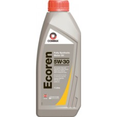 Comma 5W30 Ecoren Fully Synthetic Engine Oil 1 Litre